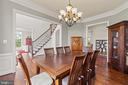 Dining Room - 35543 GREYFRIAR DR, ROUND HILL