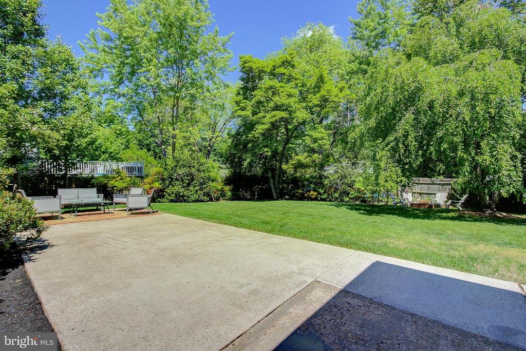 Outdoor Patio/Back Yard Access from Screened-Porch - 2502 CHILDS LN, ALEXANDRIA