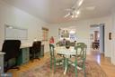 Built-In Desks/Homework Station Area To Left - 2502 CHILDS LN, ALEXANDRIA