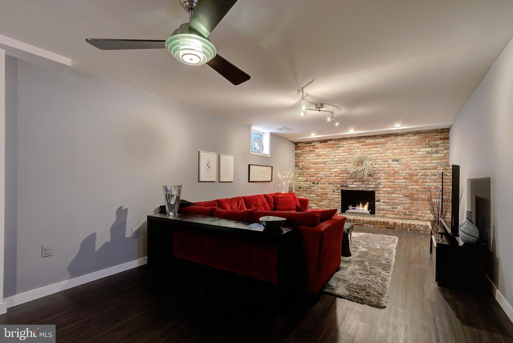 Family Room/Recreation Room (Finished Lower Level) - 2502 CHILDS LN, ALEXANDRIA