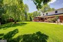 Rear of Home with Private Back Yard and Lush Lawn! - 2502 CHILDS LN, ALEXANDRIA