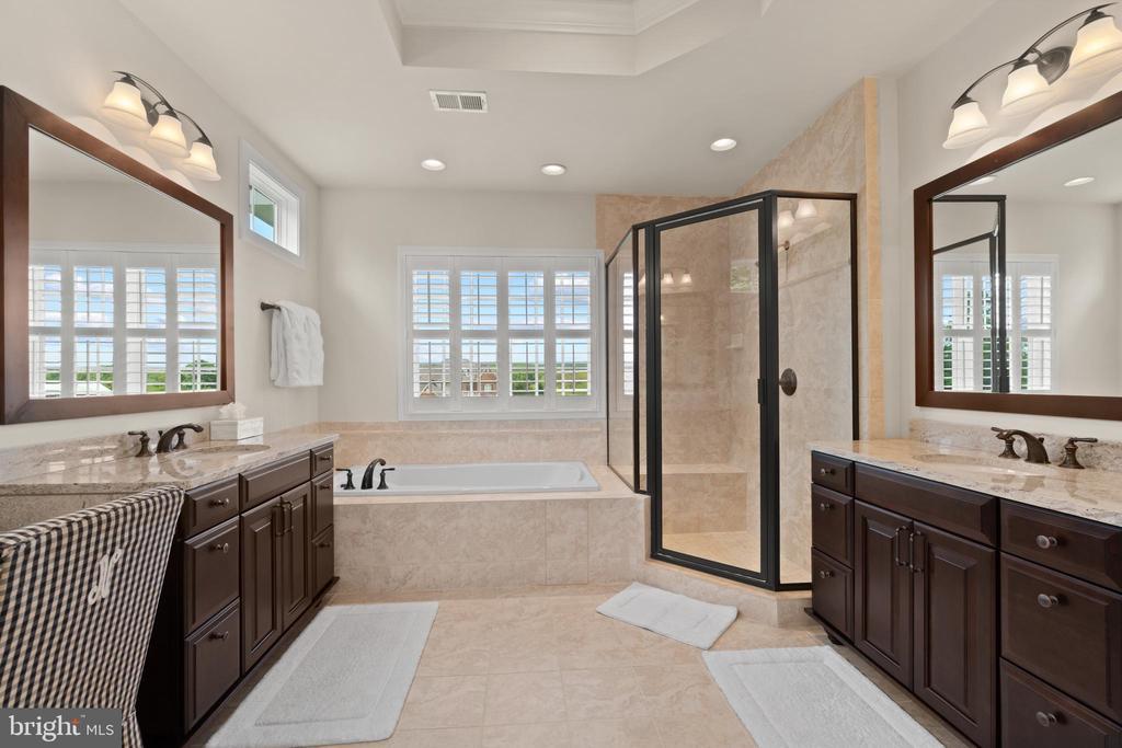 Primary Luxury Bath - 35543 GREYFRIAR DR, ROUND HILL