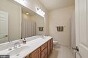 First Hallway Bath - 17215 IVANDALE RD, HAMILTON