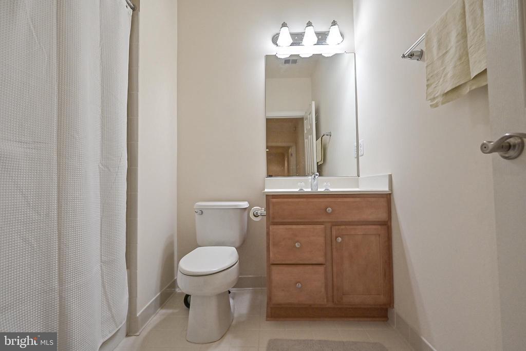 Basement full bathroom - 17215 IVANDALE RD, HAMILTON