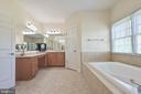 Master bathroom - 17215 IVANDALE RD, HAMILTON