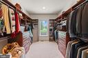 Primary Walking in closet with custom built-ins - 9903 S HARRIS FARM RD, SPOTSYLVANIA