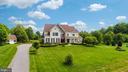 Long driveway with beautiful grassy yard - 9903 S HARRIS FARM RD, SPOTSYLVANIA