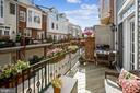 Brand new balcony decking - 8 KEITHS LN, ALEXANDRIA