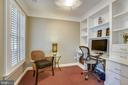Office with built in cabinetry - 8 KEITHS LN, ALEXANDRIA