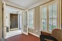 Office with plantation shutters - 8 KEITHS LN, ALEXANDRIA