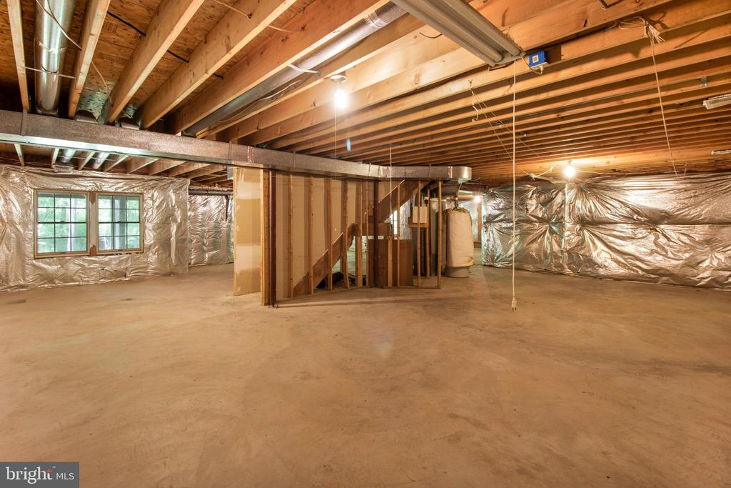 basement - 15302 SWEETRIDGE RD, SILVER SPRING
