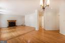 family room - 15302 SWEETRIDGE RD, SILVER SPRING