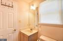 en-suite bath for bedroom 5 - 15302 SWEETRIDGE RD, SILVER SPRING