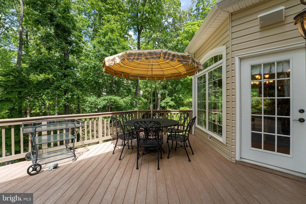 Access Door Conveniently Leads to the Kitchen - 11500 TURNING LEAF CT, SPOTSYLVANIA
