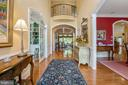 Grand Entrance with Overlook - 11500 TURNING LEAF CT, SPOTSYLVANIA