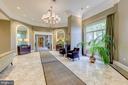 Lobby Sitting Area - 851 N GLEBE RD #115, ARLINGTON