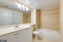 Bathroom Updated Faucet and Lights - 851 N GLEBE RD #115, ARLINGTON