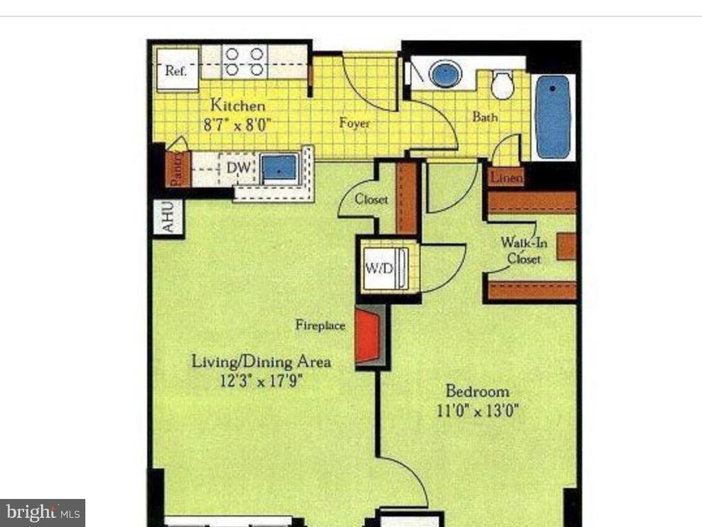 Floor Plan - 851 N GLEBE RD #115, ARLINGTON