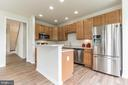 Kitchen with All New Stainless Appliances - 13206 TRIPLE CROWN LOOP, GAINESVILLE