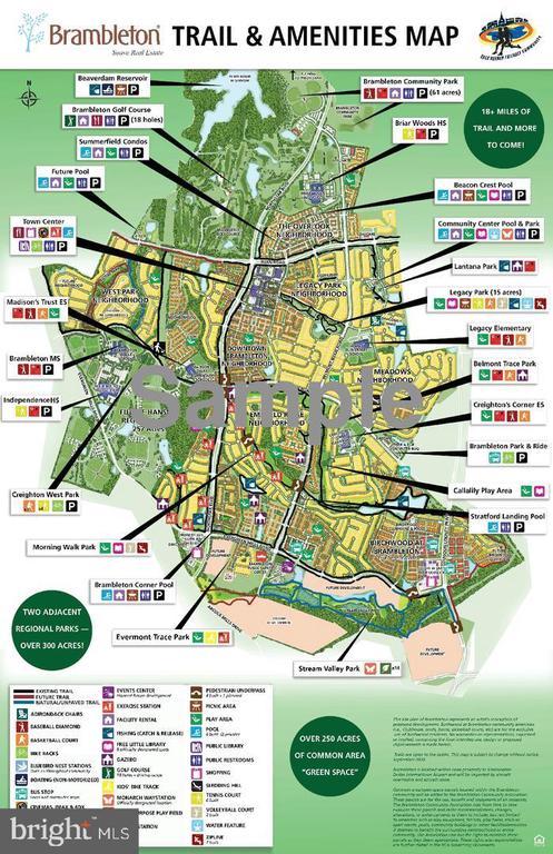 Brambleton amenities - 23096 RED ADMIRAL PL, BRAMBLETON