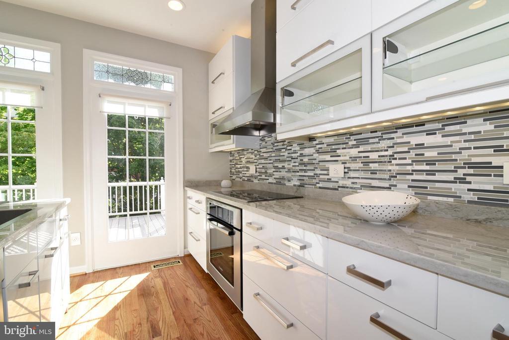 Remodeled kitchen - 12143 CHANCERY STATION CIR, RESTON