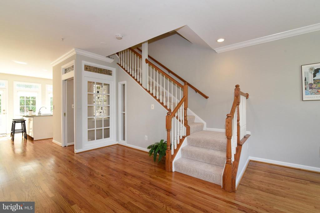 Stairs to 3rd level - 12143 CHANCERY STATION CIR, RESTON