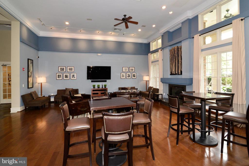 Clubhouse party room - 12143 CHANCERY STATION CIR, RESTON