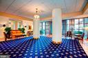Front lobby with Concierge - 2400 CLARENDON BLVD #301, ARLINGTON