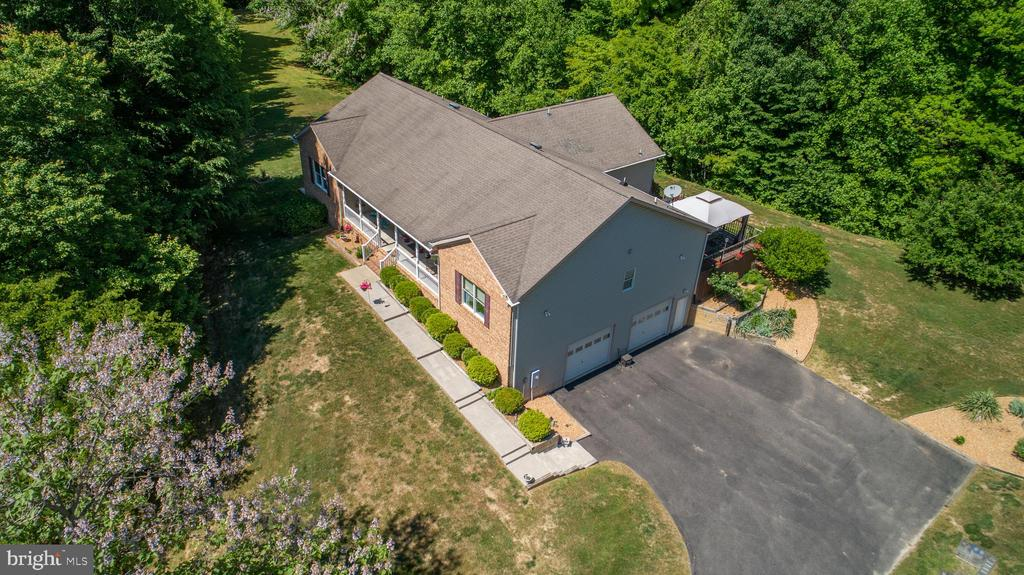 Aerial view - 6559 OVERLOOK DR, KING GEORGE