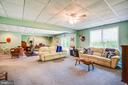 Family Room Downstairs - 6559 OVERLOOK DR, KING GEORGE