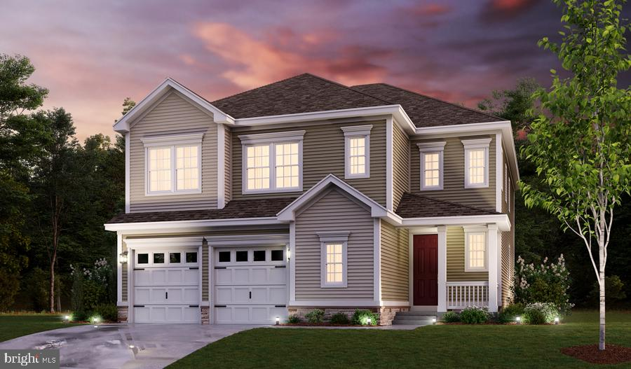 Exterior Rendering - HIBISCUS DR, STAFFORD