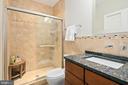 Lower level full bath - 2507 11TH ST N, ARLINGTON