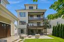 Stunning exterior rear view of the home - 2507 11TH ST N, ARLINGTON