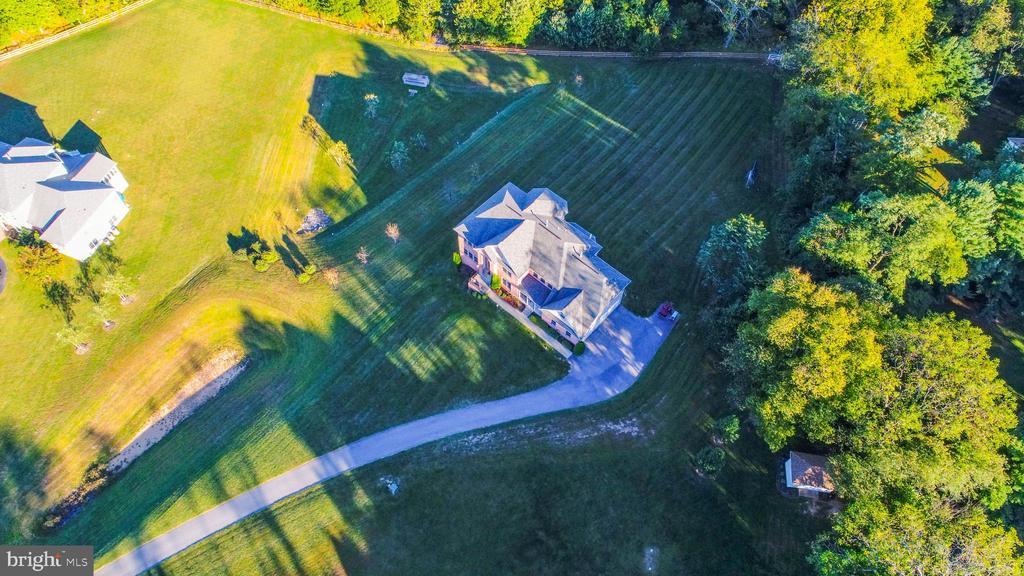 Aerial view - 25103 HIGHLAND MANOR CT, GAITHERSBURG
