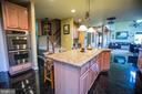 Check out the double wall ovens - 25103 HIGHLAND MANOR CT, GAITHERSBURG