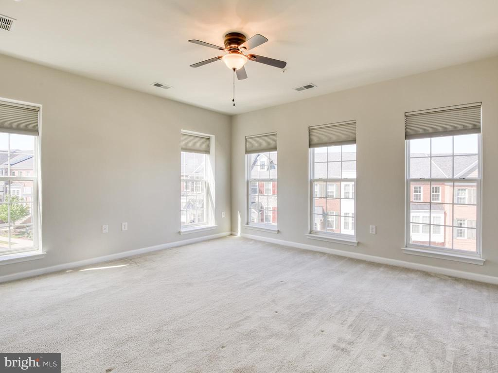 Tons of natural light in Master Bedroom - 20607 GEDDES TER W, ASHBURN