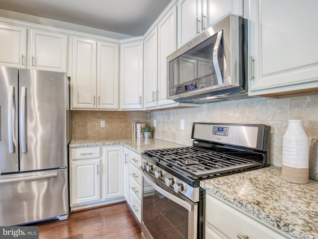 Stainless steel appliances and gleaming granite - 20607 GEDDES TER W, ASHBURN