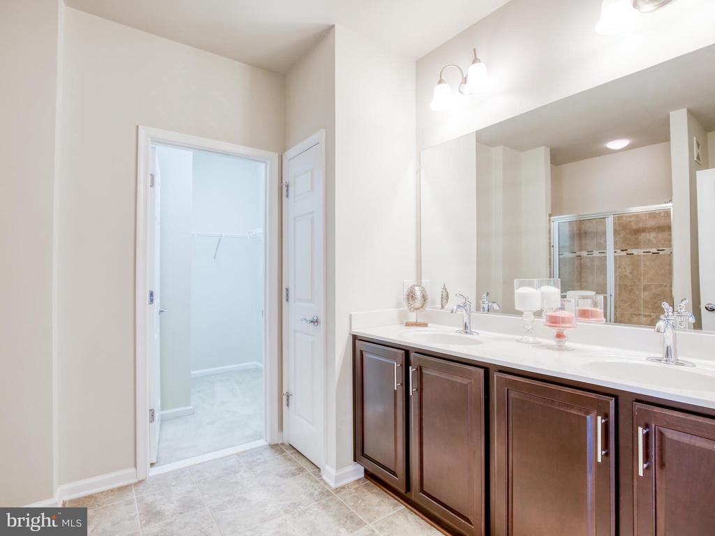 Enormous walk in closet in master suite - 20607 GEDDES TER W, ASHBURN