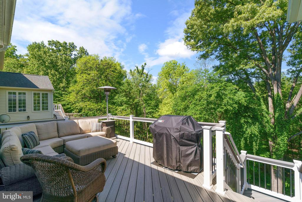 Over 600sf of Trex Deck in Island Mist - 47273 OX BOW CIR, STERLING