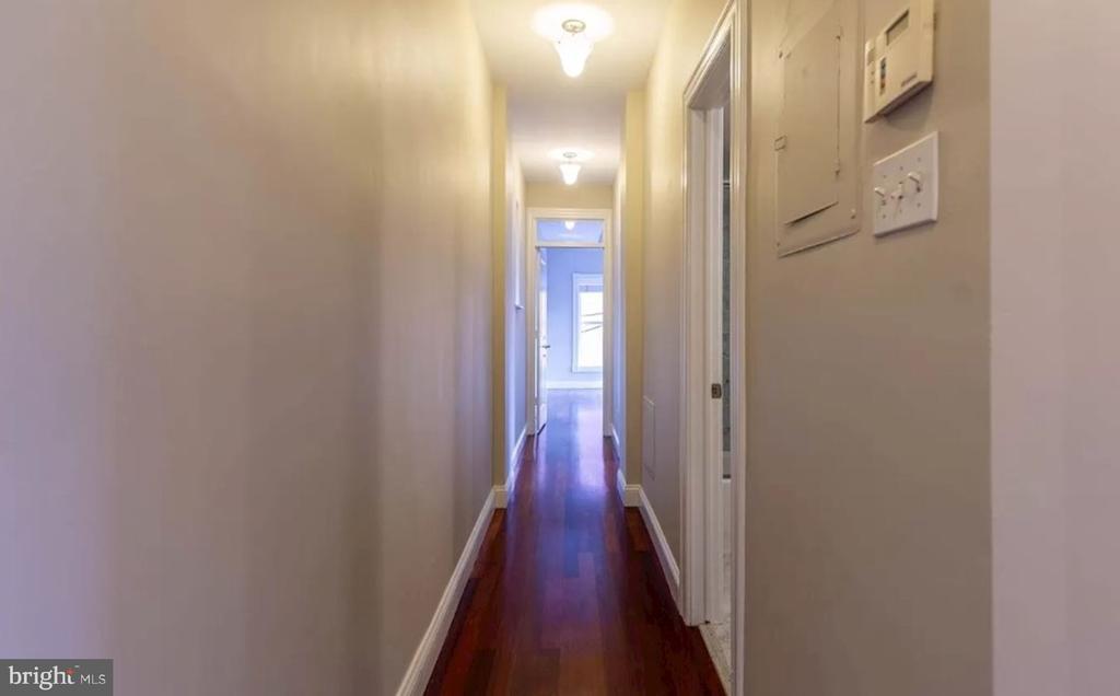 Unit 2 - Hallway Leading to Bedrooms - 1700 13TH ST NW, WASHINGTON