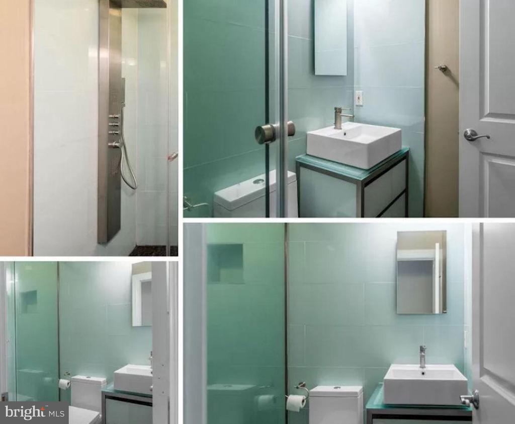 Unit 3 - Contemporary Full Bath - 1700 13TH ST NW, WASHINGTON
