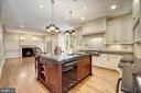 Chef's Kitchen - 3823 N RANDOLPH CT, ARLINGTON