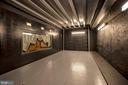 Garage Lift from Lower Level - 3823 N RANDOLPH CT, ARLINGTON