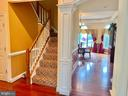 Back staircase - 7216 PRESERVATION CT, FULTON