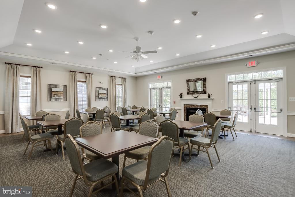 Clubhouse party room - 9754 KNOWLEDGE DR, LAUREL
