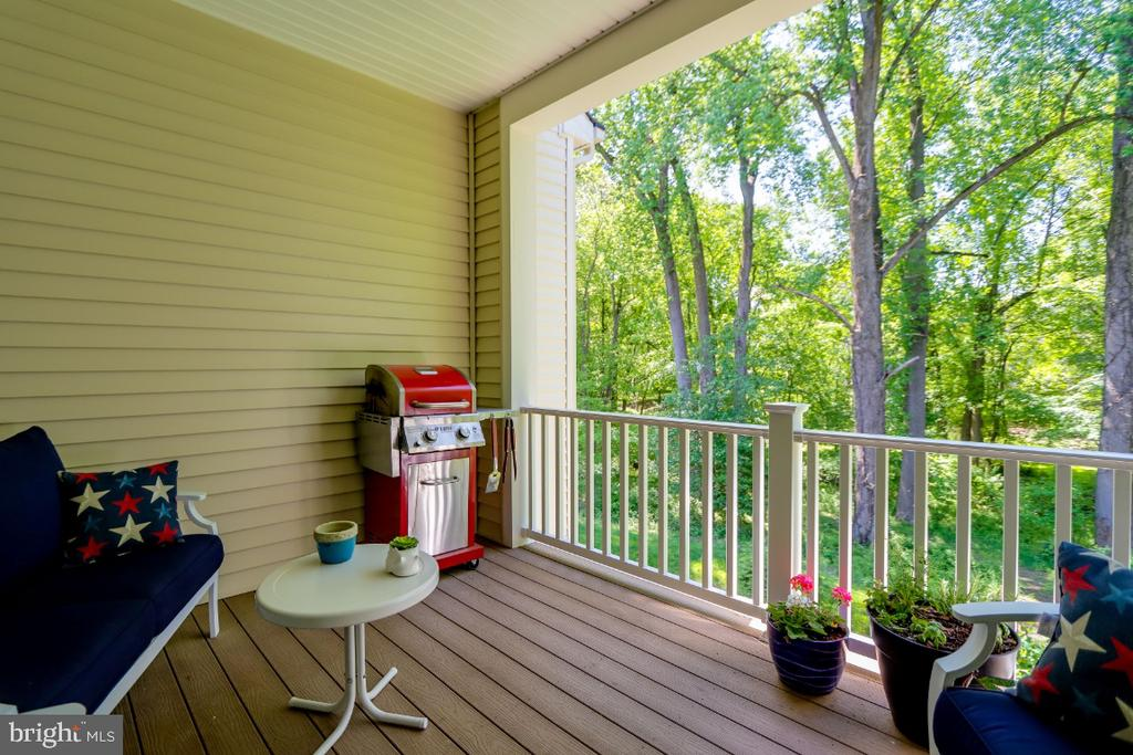 Enjoy your morning coffee - 9754 KNOWLEDGE DR, LAUREL