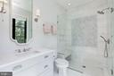 Bedroom #3 Full Bath - 8905 HOLLY LEAF LN, BETHESDA