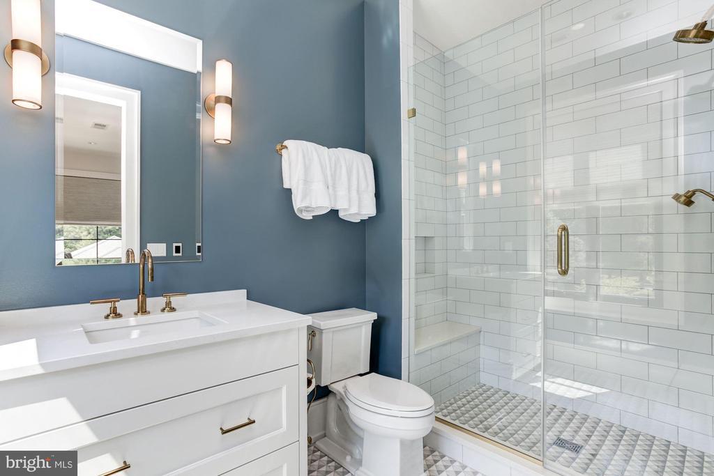 Guest House Bedroom #2 Full Bath - 8905 HOLLY LEAF LN, BETHESDA