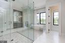 Owner's bathroom - 8905 HOLLY LEAF LN, BETHESDA