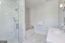 Bedroom #4 Full Bath - 8905 HOLLY LEAF LN, BETHESDA